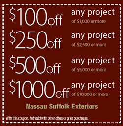 Exterior Home Improvement Discount Coupons
